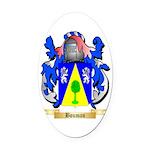 Bouman Oval Car Magnet