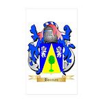 Bouman Sticker (Rectangle 50 pk)
