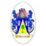 Bouman Sticker (Oval 10 pk)