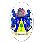 Bouman Sticker (Oval 50 pk)