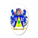 Bouman 35x21 Oval Wall Decal