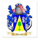 Bouma Square Car Magnet 3