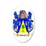 Bouma 20x12 Oval Wall Decal