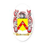 Boulton Oval Car Magnet