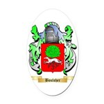 Boulsher Oval Car Magnet