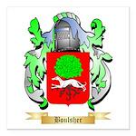 Boulsher Square Car Magnet 3
