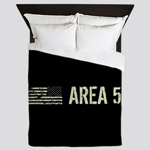 Black Flag: Area 51 Queen Duvet