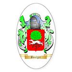 Boulger Sticker (Oval 50 pk)