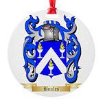 Boules Round Ornament