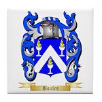 Boules Tile Coaster