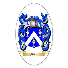 Boule Sticker (Oval)