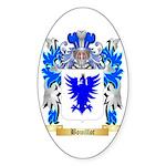 Bouillot Sticker (Oval 50 pk)