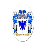 Bouillot 35x21 Oval Wall Decal