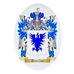 Bouillon Ornament (Oval)