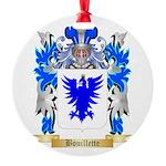 Bouillette Round Ornament
