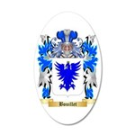 Bouillet 35x21 Oval Wall Decal