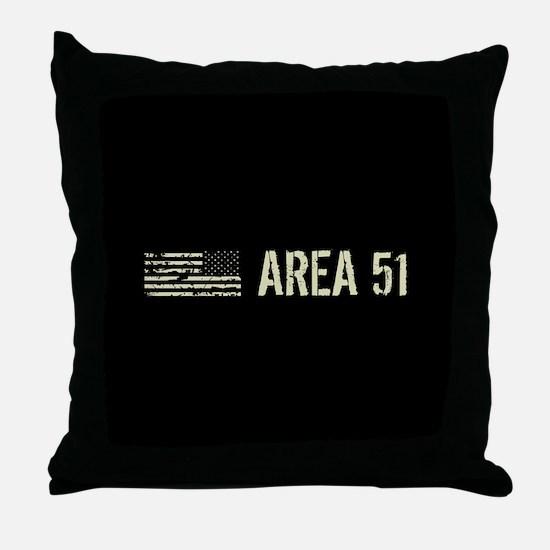 Black Flag: Area 51 Throw Pillow