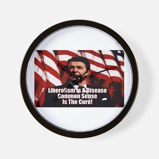 """Reagan: Liberalism Is A Disease"" Wall C"