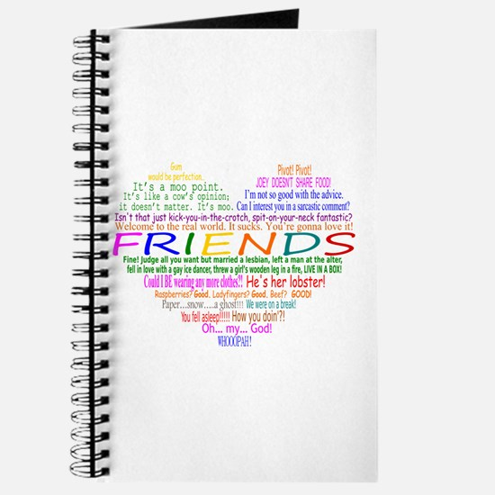 FriendsTVQuotesHeart Journal