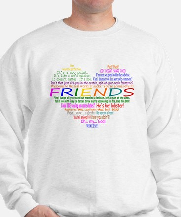 FriendsTVQuotesHeart Sweater