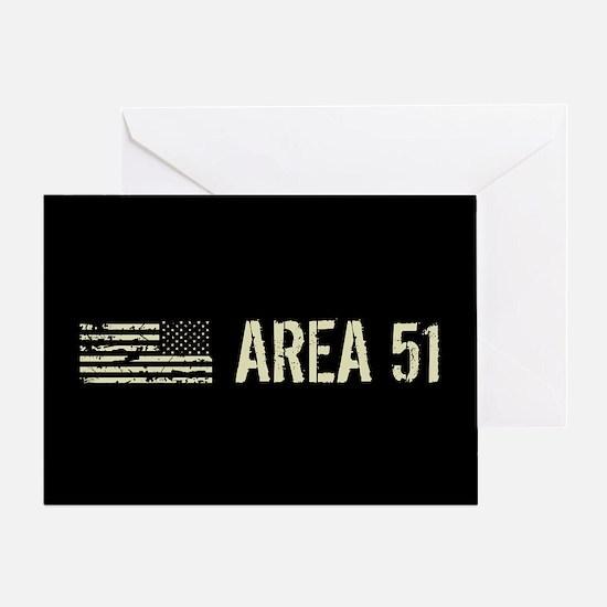 Black Flag: Area 51 Greeting Card