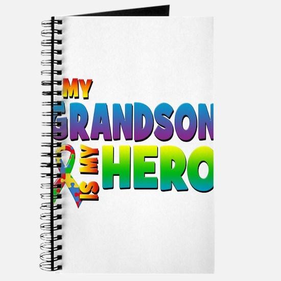 My Grandson Is My Hero Journal