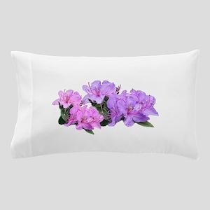 Purple azalea flowers Pillow Case