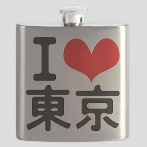 I Love Tokyo Flask
