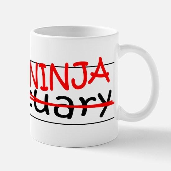 Job Ninja Actuary Mug