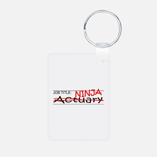 Job Ninja Actuary Keychains