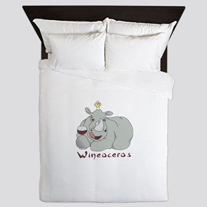 Winoceros Queen Duvet