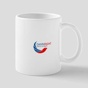 Damn Right Eagle Logo Mug