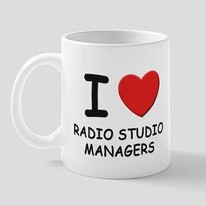 I love radio studio managers Mug