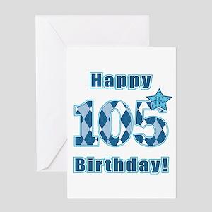 Happy 105th Birthday! Greeting Card