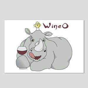 Wine O Postcards (Package of 8)