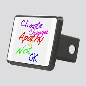 Climate Change Apathy is Not OK Hitch Cover