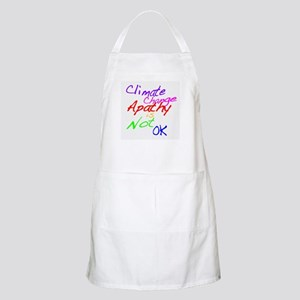 Climate Change Apathy is Not OK Apron