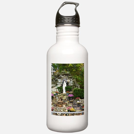 Our Lady of Lourdes Shrine in the Fall Water Bottle