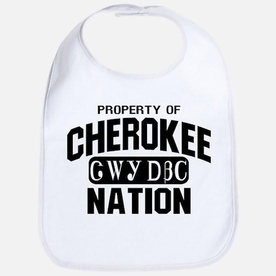Property of Cherokee Nation Bib