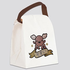 Kawaii Canvas Lunch Bag