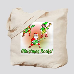 Christmas Rocks Tote Bag