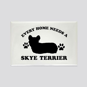 Every home needs a Skye Terrier Rectangle Magnet