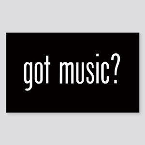 Got Music? Oval Sticker