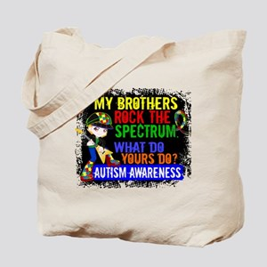 Rocks Spectrum Autism Tote Bag