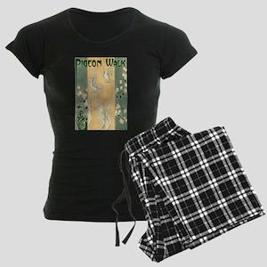 Pigeon Walk Women's Dark Pajamas