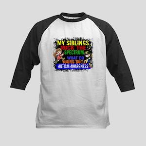 Rock Spectrum Autism Kids Baseball Jersey