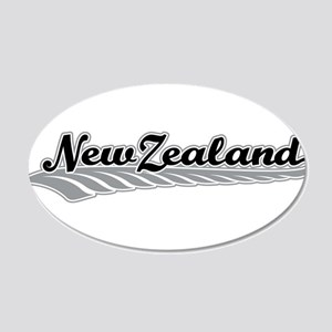 New Zealand Fern Swish Wall Decal