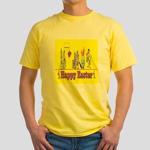 Easter Bunny Egg Yellow T-Shirt
