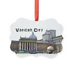 Vatican City Picture Ornament