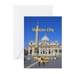 Vatican City Greeting Cards (Pk of 20)